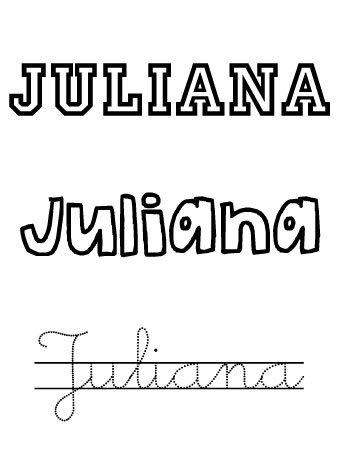 Juliana. Nombres para niñas
