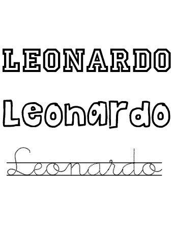 Leonardo. Nombres para niños