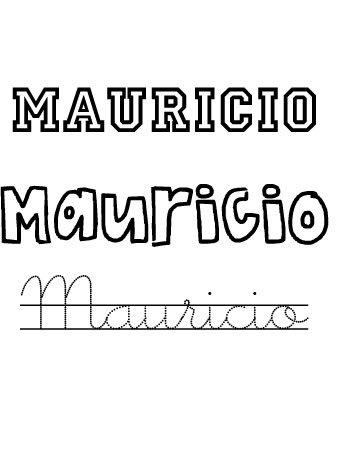 Mauricio. Nombres para niños