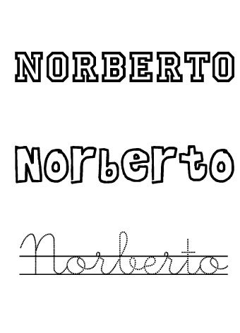 Norberto. Nombre para niños