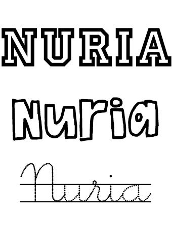 Nuria. Nombres para niñas?