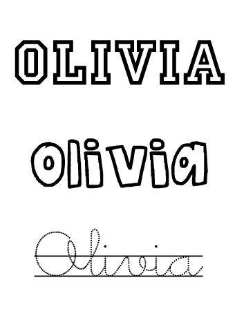 Olivia. Nombres para niñas
