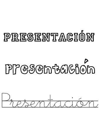Presentación. Nombres para niñas