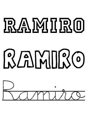 Nombres para niños. Ramiro