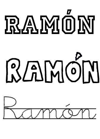 Ramón. Nombres para niños