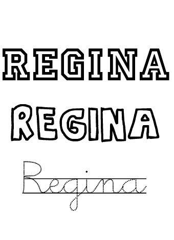 Regina. Nombres para niñas