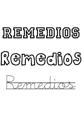 Remedios. Nombres para niñas