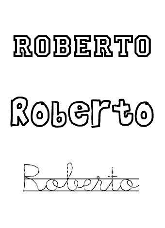 Roberto. Nombres para niños