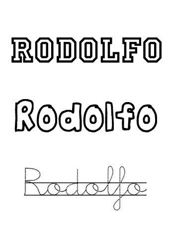 Rodolfo. Nombres para niños