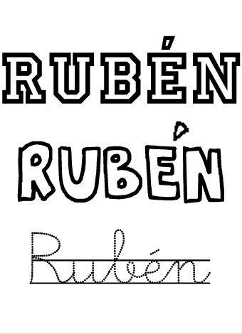 Ruben. Nombres para niños