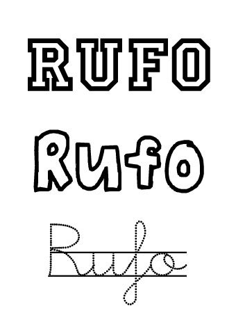 Rufo. Nombres para niños
