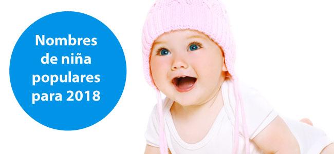 Ideas de 30 nombres de niña más populares para 2018