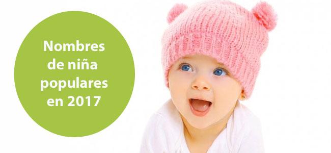 Ideas de nombres de niña más populares para el 2017