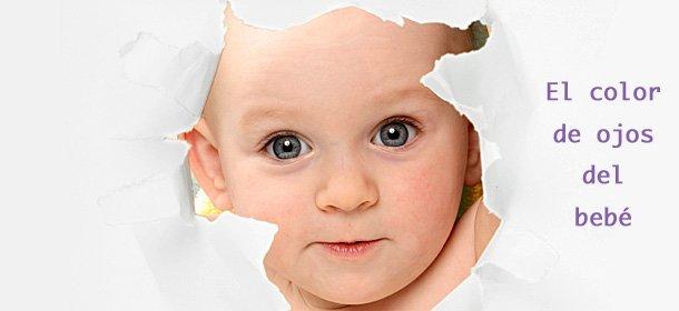 El color de ojos del bebé