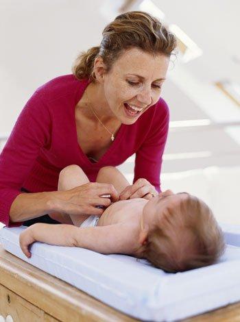 Pañales de tela para el bebé