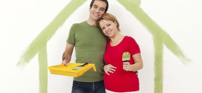 Elegir el color para la pared de la habitación del bebé