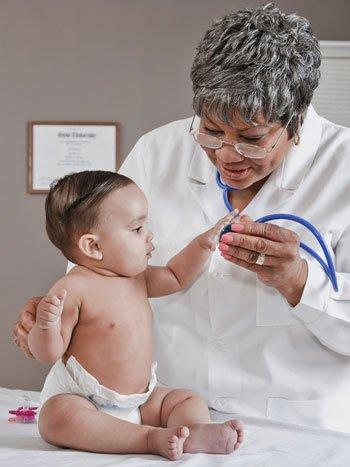 La primera consulta pediátrica de tu bebé