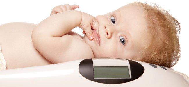 Tabla peso bebe 6 meses