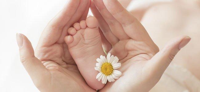 Pie de un bebé