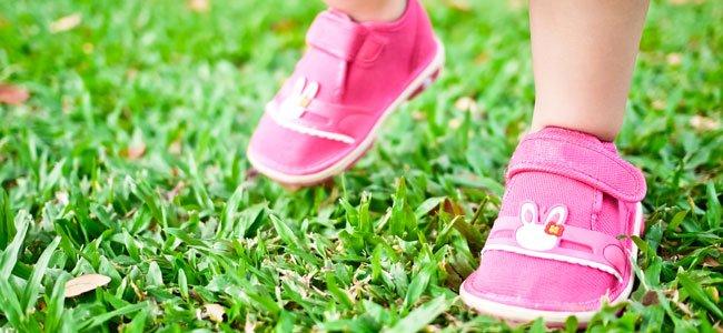 El calzado más adecuado para el bebé