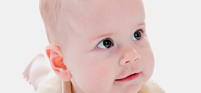 Plagiocefalia en bebés
