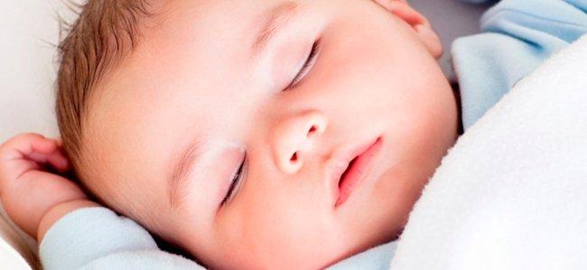 Postura para dormir al bebé