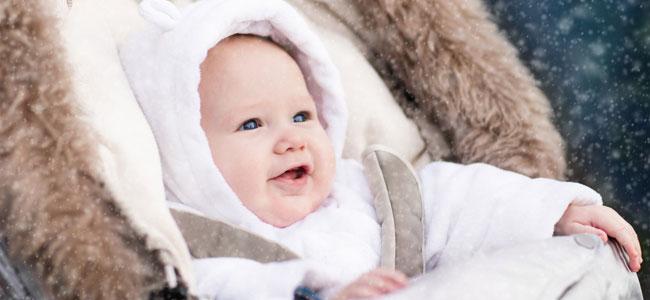 Consejos para preparar al bebé para el frío