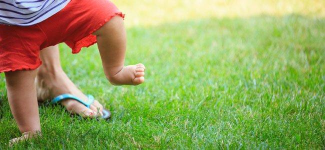 Primeros pasos del bebé