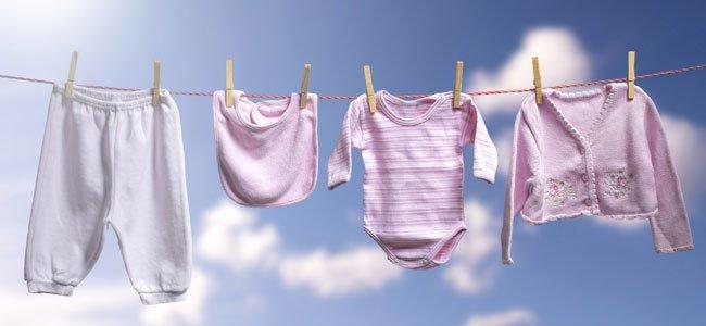 Como lavar la ropa del bebe