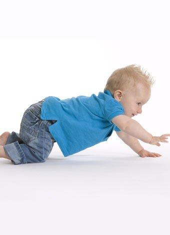 Ropa para el bebé gateador