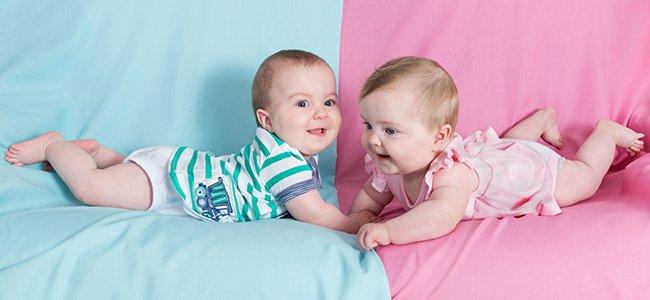 Colores para la ropa del bebé