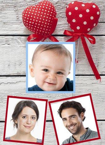 Cómo será el rostro del futuro bebé