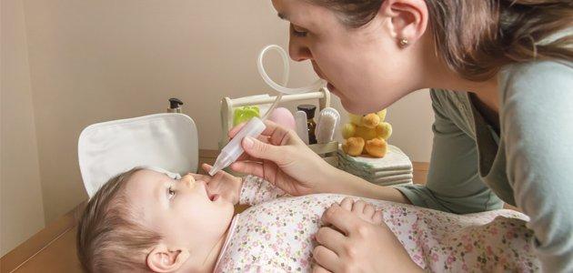 Ventajas e inconvenientes del aspirador nasal en bebés y niños