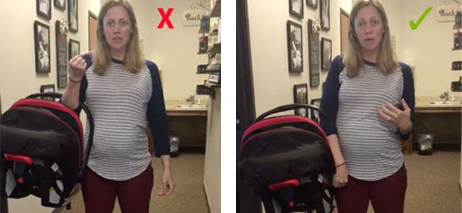evitar del la sostener silla bebé coche para para el Cómo sQBdoxtChr