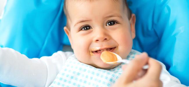 Alimentos sólidos para el bebé