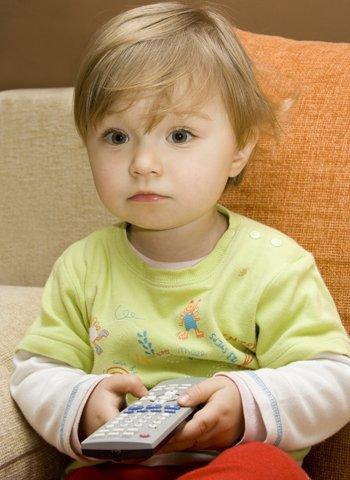 Menos horas de televisión para los niños