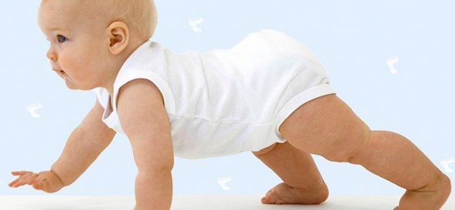 Tipos de gateo en el bebé