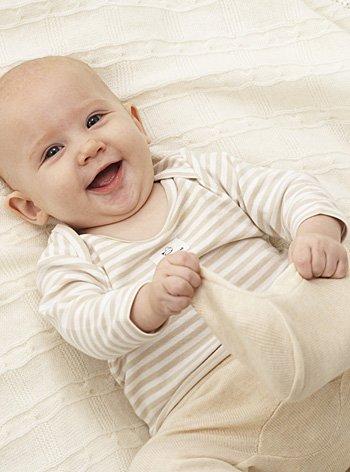el bebe a los tres meses: