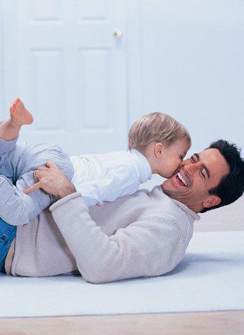La comunicación y el vínculo del papá con su bebé