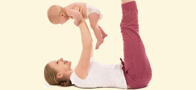 Yoga para la mamá y el bebé