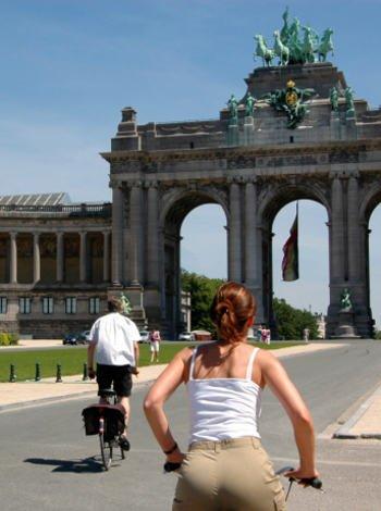 Moverse por Bruselas en bici