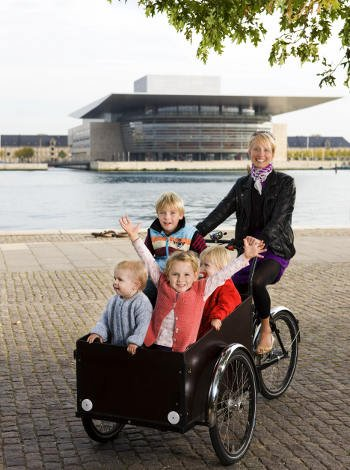 Moverse por Copenhague con niños