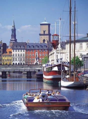 Visita Copenhague y su puerto con niños