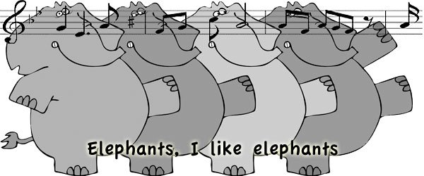 Canción i like elephants