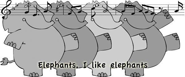 Canción i like elephants