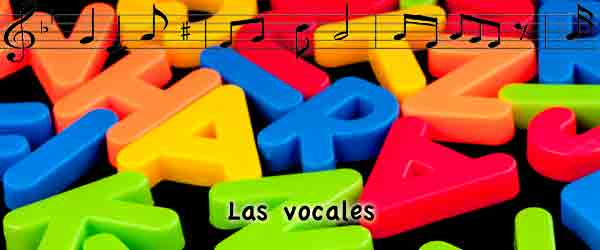 Canción Danza de las vocales