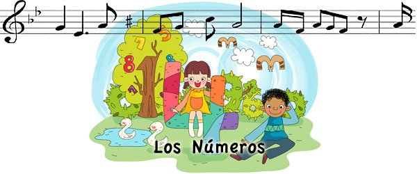 Los n meros canciones para ni os for Cancion jardin de rosas en ingles