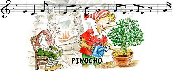 Canción Pinocho