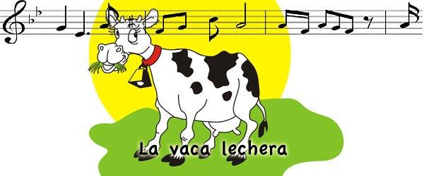 La vaca lechera. Canciones infantiles para niños y bebés