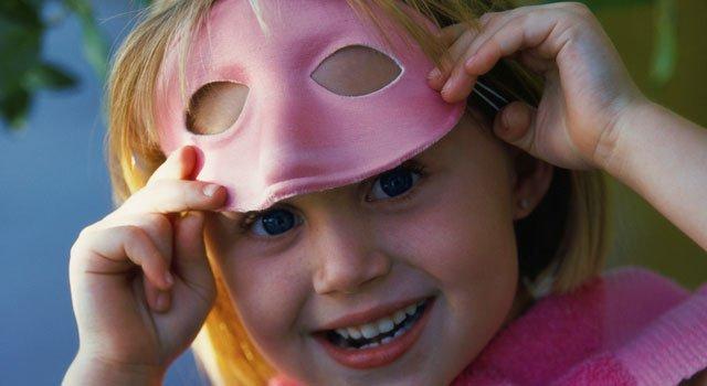 Caretas de carnaval para niños
